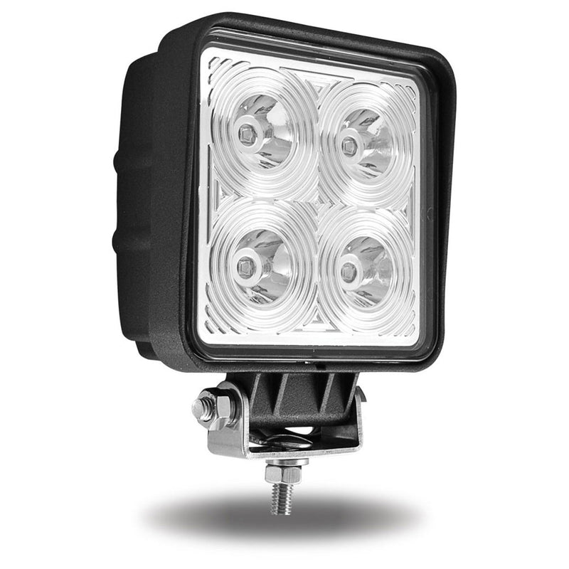 Next Generation Universal White Square Work Light with 360 Degree Side Diodes