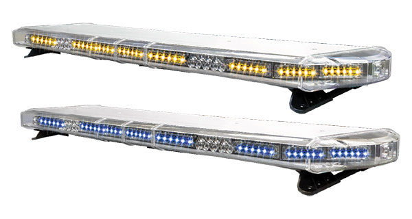 "44"" Torrent LED Light Bar V2 FULL DUAL COLOR (360 degree dual color capable) - CORNERS OPTION: 12 LED single color or 12 LED dual color. With Front/Rear inboards.  Full Front Flood & LED alleys."