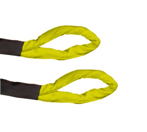 Yellow Eye Eye Polyester Round Sling - Made in USA