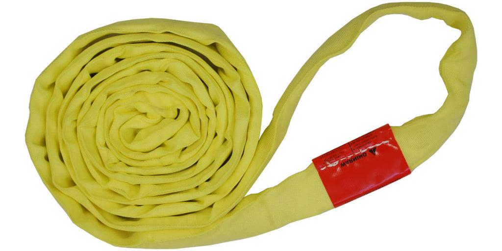 Yellow Polyester Round Slings