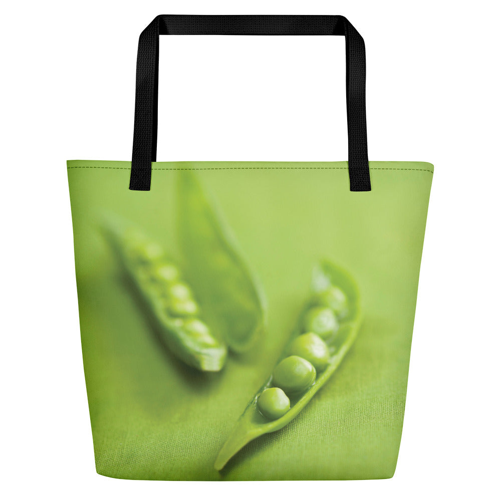 Large Tote/Beach Bag Peas