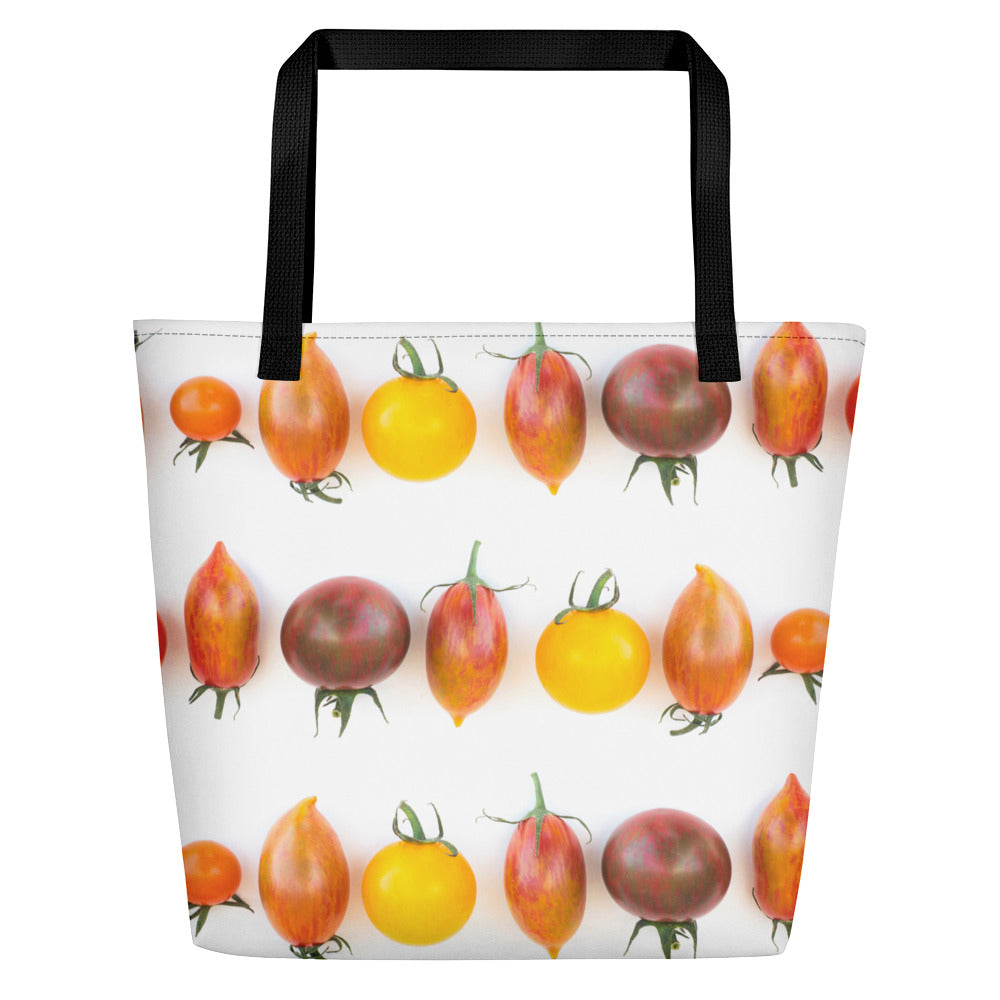 Large Tote/Beach Bag Heirloom Tomatoes