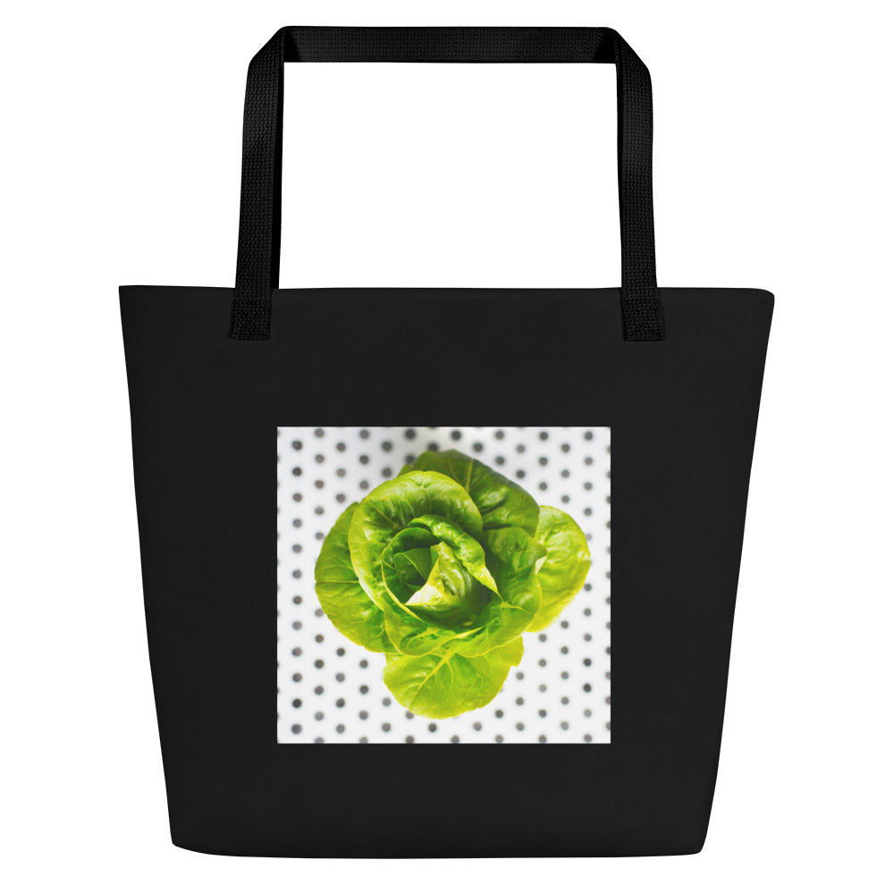 Large Tote/Beach Bag Lettuce
