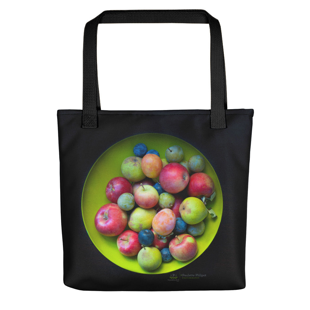Tote bag, fall fruit