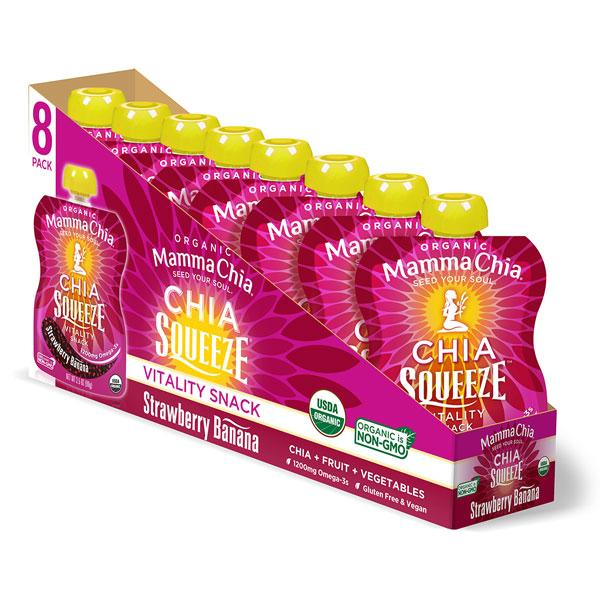Chia Squeeze Pack