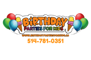 Kids Themed Birthday Party Packages in Montreal