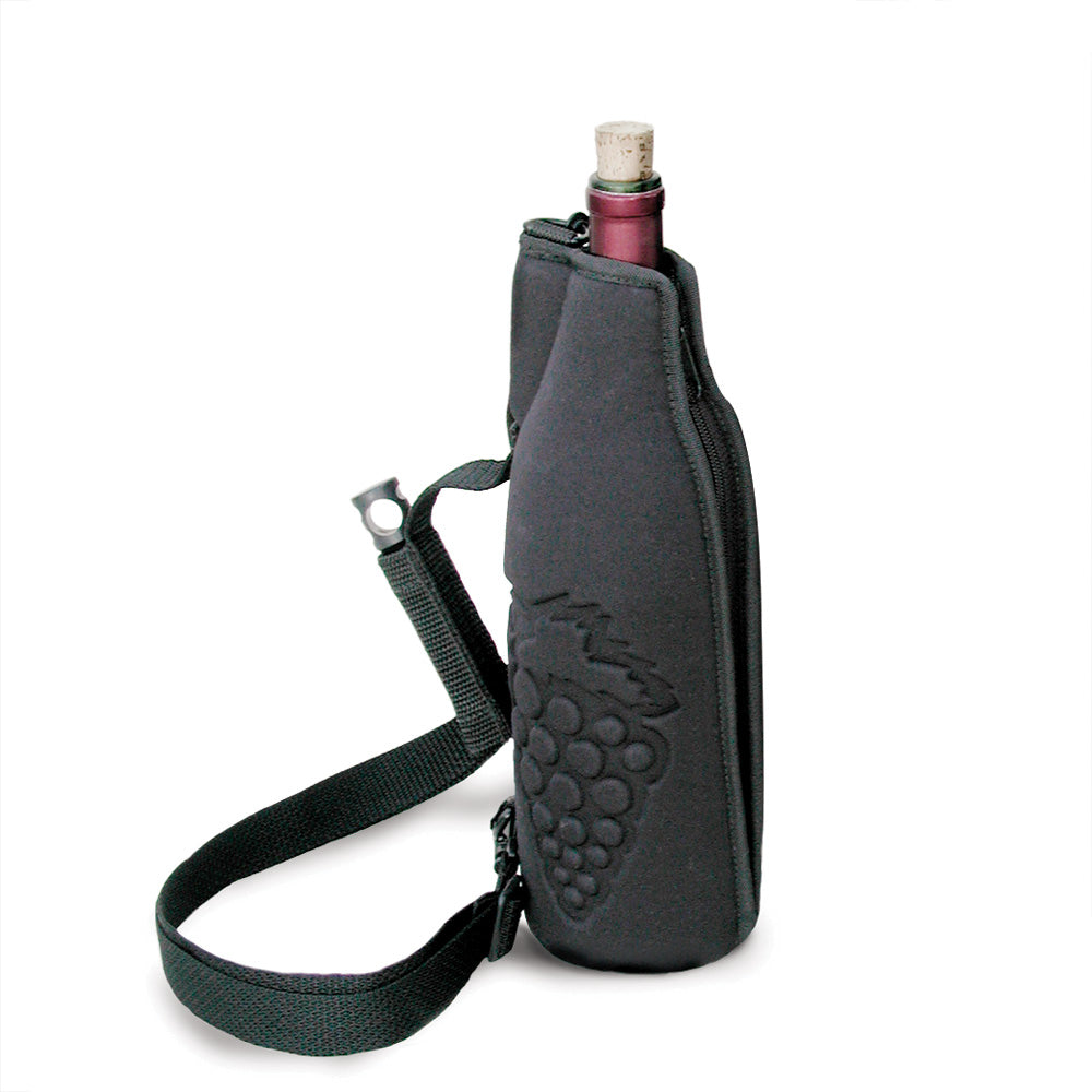 Premium Insulated 2 Bottle Wine Carrier Tote Bag | Wine ... |Aluminum Wine Bottle Totes