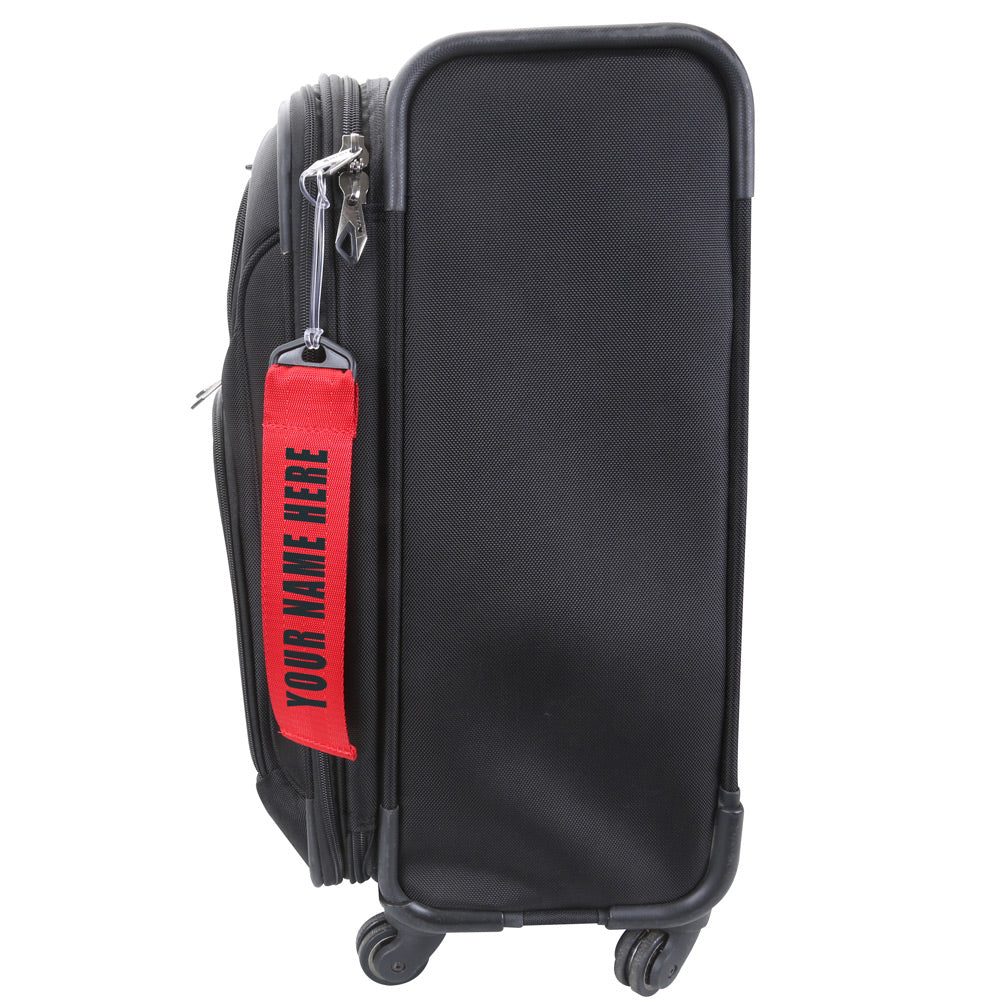 25f7d5f3cff6 Personalized Red Luggage Tag