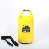 Dry Bag - 10 Liters - Yellow or Black