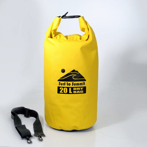 Dry Bag - 20 Liters- Yellow or Black