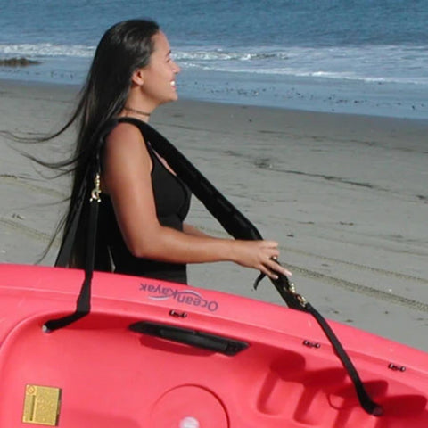 Surf To Summit Kayak Carrier, Scupper Hole Kayak Carrier, Kayak Transportation