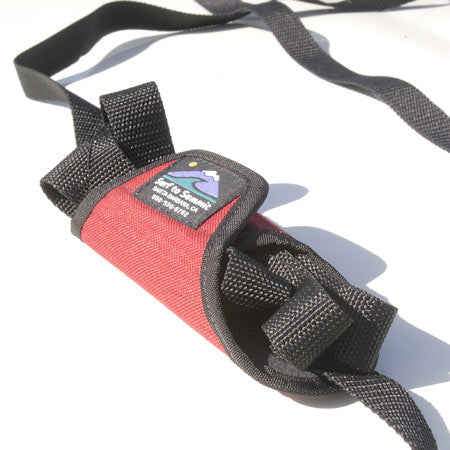 Flying Burrito -15', Tie Down Straps, Covered Tie Down Straps