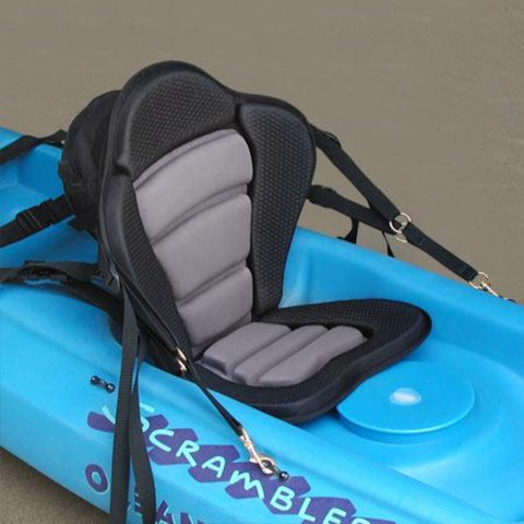 GTS Elite Molded Foam Kayak Seat - with Zipper Pack