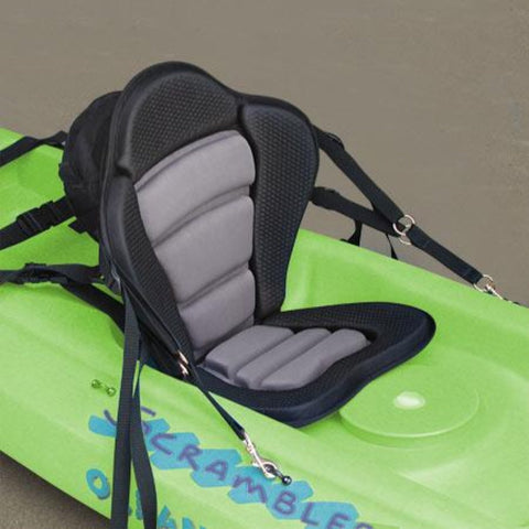 GTS Elite Molded Foam Kayak Seat - with Fishing Pack