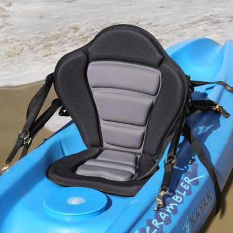 GTS Elite Molded Foam Kayak Seat – Water Bottle Pack