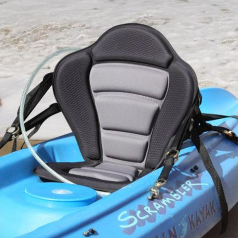 GTS Elite Molded Foam Kayak Seat – Hydration Pack