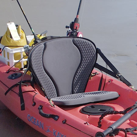 GTS Pro Molded Foam Kayak Seat - Fishing Pack