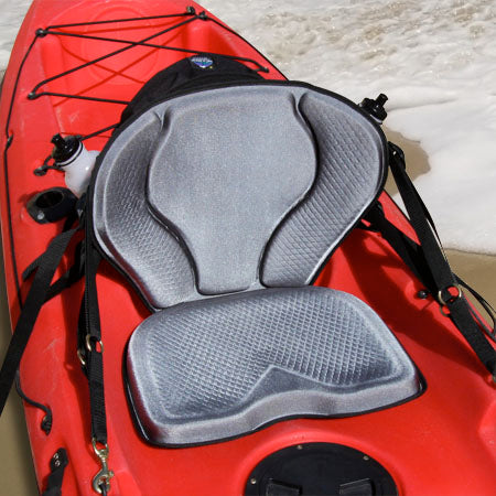 GTS Pro Molded Foam Kayak Seat – Water Bottle Pack