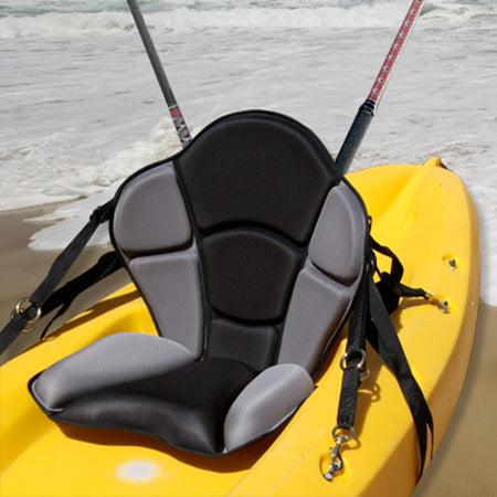 GTS Expedition Molded Foam Sit On Top Kayak Seat with Fishing Pack