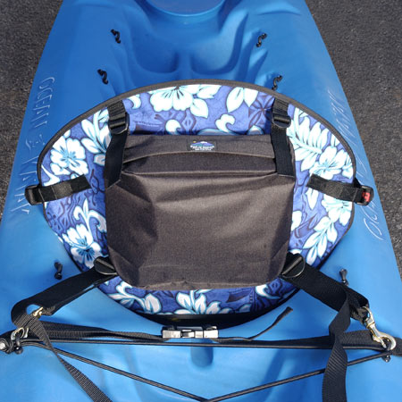 Tall Back Hawaiian Molded Foam Kayak Seat - Standard Pack