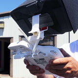 iPad Mini Mount and Sun Shade for Phantom 2 Quadcopter Drone Controller