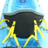 S2S SeatWorx - The Transformer Kayak Seat Component System - Gray Pads