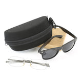 Extra Large Molded Foam Sunglasses Case Double Eyeglass Reading Glasses Case Portable Sleeve Box Bag Travelin