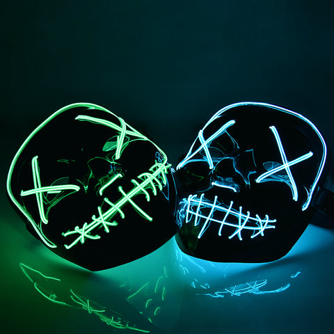 60% OFF EARLY HALLOWEEN SALE - Halloween Purge LED Mask