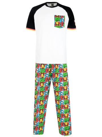 Mens Marvel Comics Pajamas