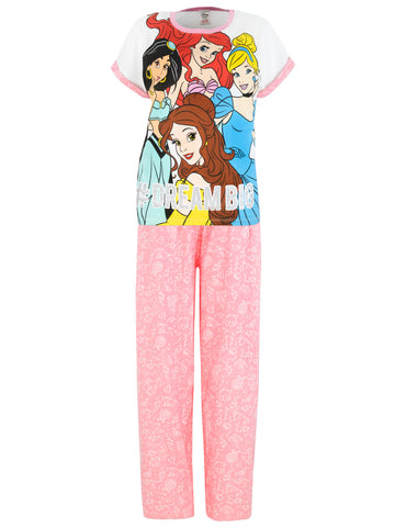 Womens Disney Princess Pajamas