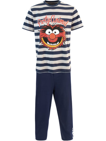 Mens Muppets Animal Pajamas