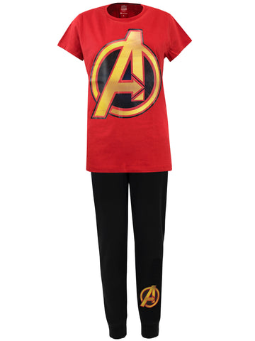 Ladies Avengers Pajamas