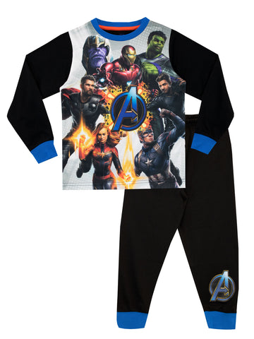 Avengers Long Sleeve Pajama Set