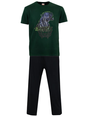 Mens Black Panther Pajamas