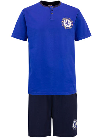 Mens Chelsea Football Club Short Pajamas