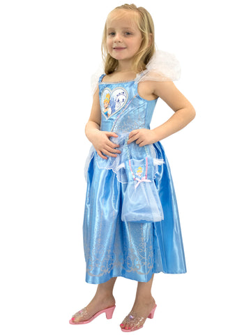 Cinderella Dress Up Costume and Bag