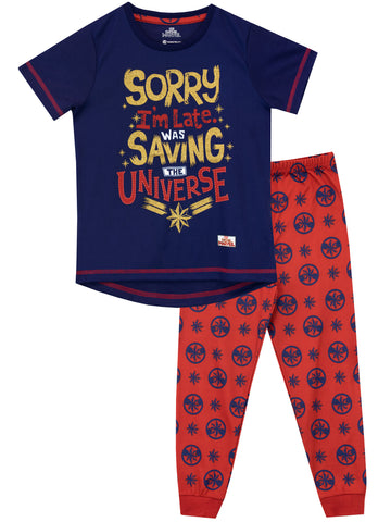 Captain Marvel Pajamas