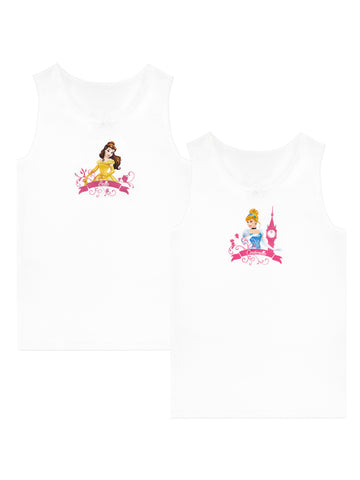Disney Princess Vests 2 Pack