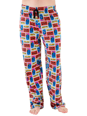 Mens Doctor Who Lounge Pants