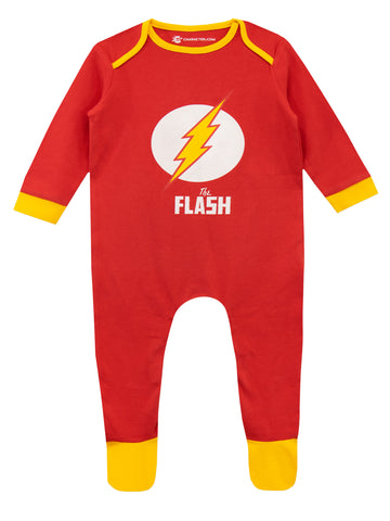 The Flash Baby Sleepsuit