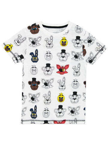 Boys Five Nights At Freddy's T-Shirt
