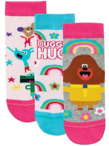 Hey Duggee Socks - Pack of 3