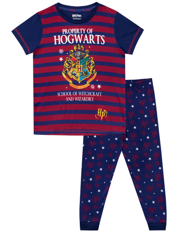 Harry Potter Pajamas - Hogwarts School