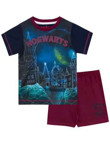 Harry Potter Hogwarts Short Pajamas