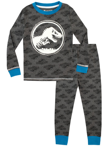 Jurassic World Pajamas - Glow in the dark