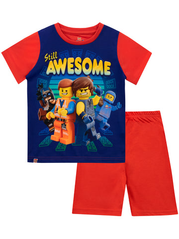Lego Movie Short Pajamas