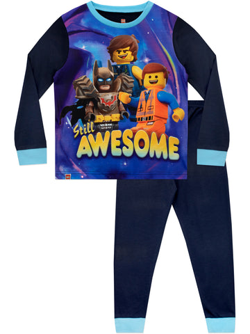 Lego Movie Pajamas - Emmet, Batman and Rex