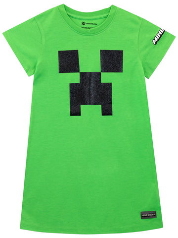 Minecraft Nightdress - Creeper