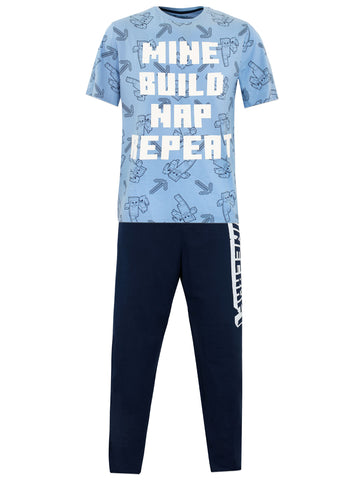 Mens Minecraft Pajamas