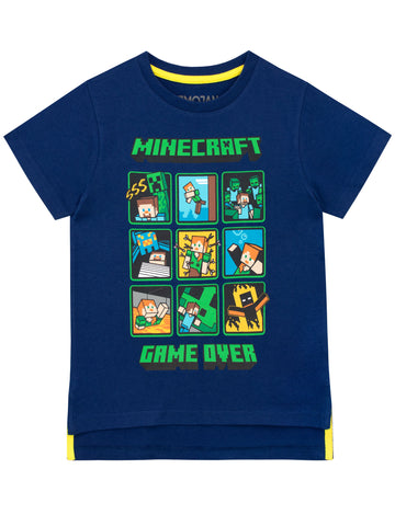 Minecraft T-Shirt - Creeper and Steve